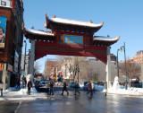 La grande porte du quartier chinois