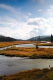 Yellowstone River in the Fall