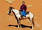 Suzie Astride her horse