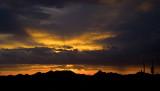 Sunset  (Sand tank mountains)