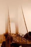 Sepia Golden Gate Bridge