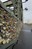 Locks on the Kaiser Wilhelm bridge