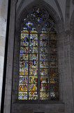 Cologne Cathedral - 14th Century Stained Glass Window