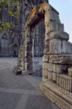 Arch in Koln Dome square