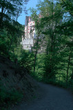 First View of Berg Eltz from the trail