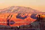 Navajo Mountain and Reflections