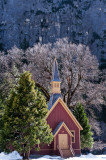 Church in natural cathedral