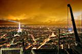 Paris in November light