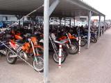 KTM Factory Employee Parking Area