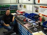 Carburetor Tuning Work Area - KTM Factory Austria (JDJetting kit on bench)