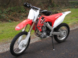 Honda CRF450R and CRF250R -Picture Gallery