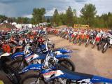 Idaho City 100 ISDE Qualifier Impound Area