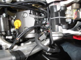 CRF250R Tuner Connections Between Stock Harness and Throttle Body