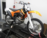 KTM 350 XCFW/SXF with JDJetting EFI Tuner
