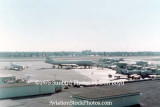 1975 - United B747 parked on Concourse 2 (now G) at Miami International Airport