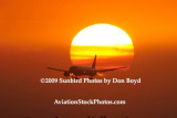 Sunsets and B777  Stock Photos Gallery