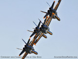 The Blue Angels at Wings Over Homestead practice air show at Homestead Air Reserve Base aviation stock photo #6244