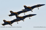 The Blue Angels at Wings Over Homestead practice air show at Homestead Air Reserve Base aviation stock photo #6258