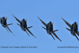 The Blue Angels at Wings Over Homestead practice air show at Homestead Air Reserve Base aviation stock photo #6275