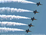 The Blue Angels at Wings Over Homestead practice air show at Homestead Air Reserve Base aviation stock photo #6285