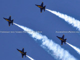 The Blue Angels at Wings Over Homestead practice air show at Homestead Air Reserve Base aviation stock photo #6313