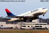 Delta Airlines B737-232 N310DA aviation airline stock photo #9843
