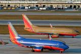 Southwest Airlines B737-7H4 N494WN and B737-7H4 N789SW aviation stock photo #7971