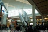 Terminal D, with Crystal Mountain sculpture, at Dallas Ft. Worth International Airport stock photo #8812