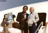 OJ Simpson and Ted Knight promoting National Airlines