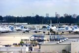 1991 - Part of Pan Am's aircraft fleet after they ceased operations on December 4th