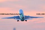 2008 - Arrow Cargo DC10-30 N478CT (ex N109WA and N1859U) liftoff at sunset aviation stock photo #1326