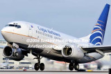 2008 - Copa Airlines B737-7V3 HP-1524CMP airline aviation stockhoto #0701