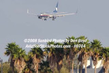 Aeromexico B737-700 on short final approach to MIA airline stock photo #0704