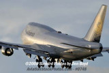 2008 - Lufthansa B747-430 D-ABVR airline aviation stock photo #0747