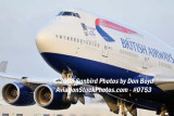 2008 - British Airways B747-436 G-BNLZ at MIA aviation airline stock photo #0753