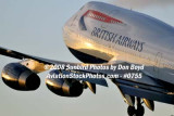2008 - British Airways B747-436 G-BNLZ at MIA aviation airline stock photo #0755