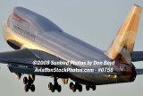 2008 - British Airways B747-436 G-BNLZ at MIA aviation airline stock photo #0756