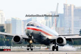 2008 - American Airlines B737-823 N943AN landing at MIA aviation airline stock photo #1063
