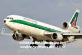 Alitalia Cargo MD-11F EI-UPU on approach to MIA aviation airline stock #1156