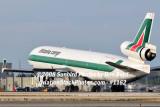 Alitalia Cargo MD-11F EI-UPU landing at MIA aviation airline stock #1162
