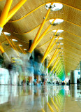 16th August, Terminal 4, Madrid Barajas Airport