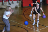 Dodgeball in the old gym 04-17-2009