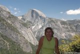 Half Dome in the background