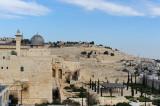 Jerusalem, al-Aqsa mosque and Mount of Olives