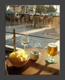 Cerveza y vino blanco