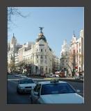 Edificio Metropolis - at the junction of Gran Via and Calle de Alcala