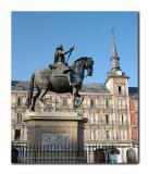 Felipe III in Plaza Mayor