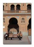 Resting in Plaza de Toros de Las Ventas