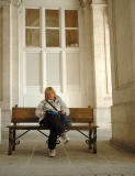 Resting in the Palacio Real