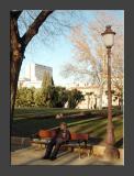 Siesta time in Parque del Oeste